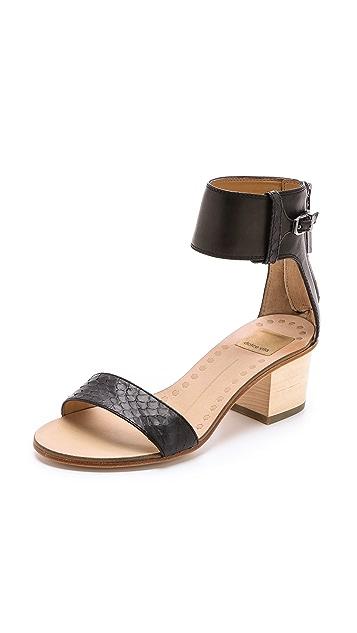 Dolce Vita Foxie low Heel Sandals
