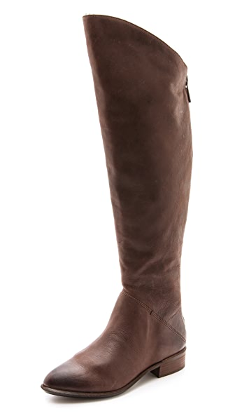 dolce vita meris flat knee high boots shopbop