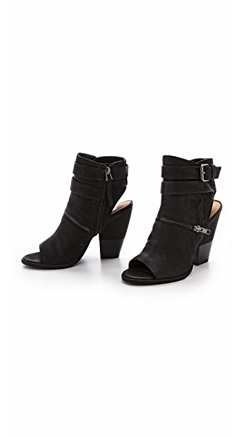 Dolce Vita Nayla Open Toe Booties