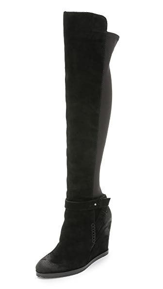 Dolce Vita Ashbey Suede Wedge Boots
