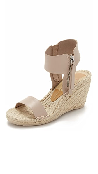 Dolce Vita Gisele Espadrille Wedges - Almond at Shopbop