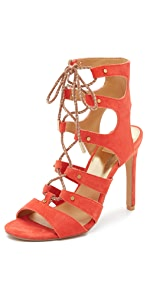 Howie Lace Up Sandals                Dolce Vita