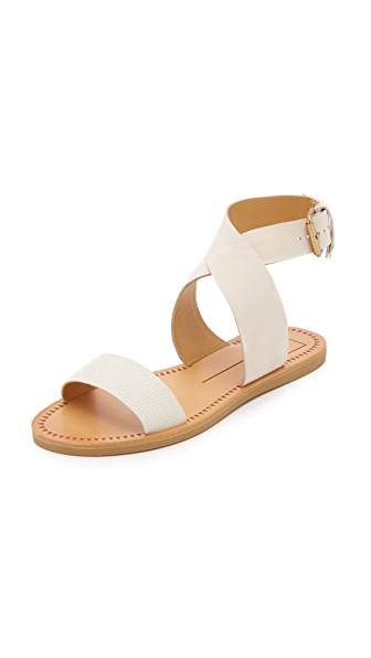 Dolce Vita Julius Flat Sandals - Off White