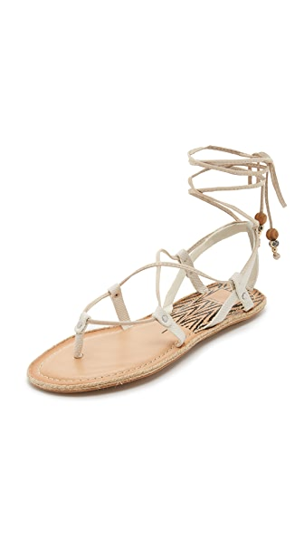 Dolce Vita Karma Flat Sandals - White at Shopbop