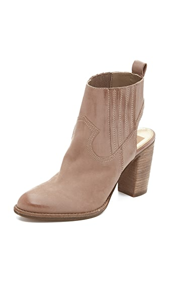 Dolce Vita Jasper Booties - Taupe at Shopbop