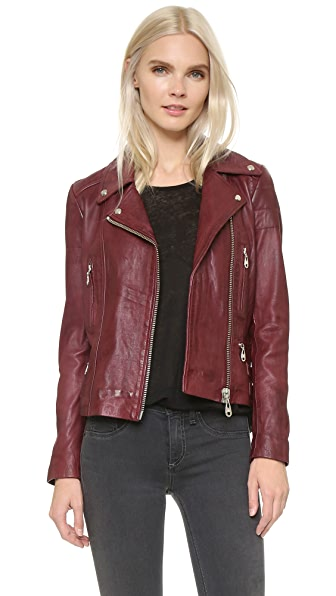 Doma Leather Moto Jacket