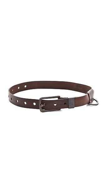 Donna Karan Casual Luxe Buckle Belt