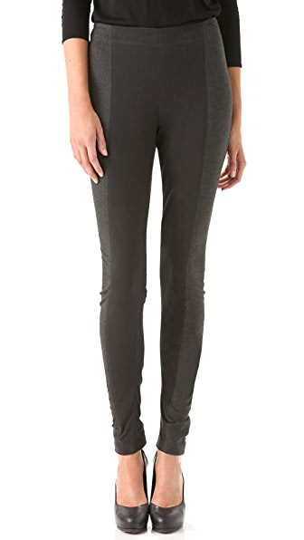 Donna Karan Casual Luxe Two Tone Pants