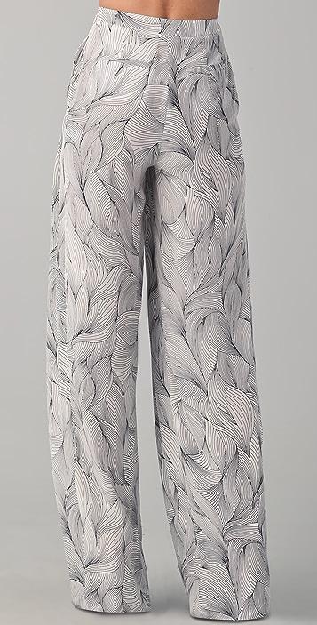 Doo.Ri Pleated Wide Leg Trousers