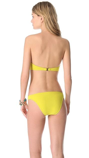 DosMares Jade Bandeau Bikini Set