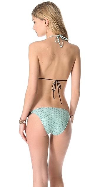 DosMares Topacio Halter Bikini Set