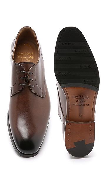 Doucal's Vienna Plain Toe Derby Shoes