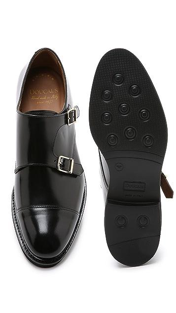Doucal's Verona Double Monkstrap Shoes