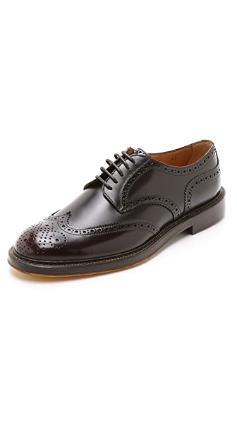 Doucal's Siena Wingtip Derby Shoes