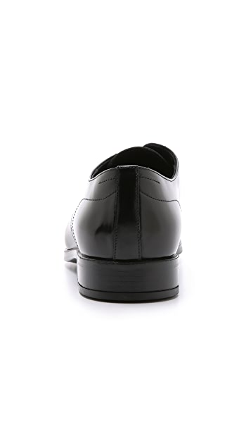 Doucal's Bonn Plain Toe Derby Shoes