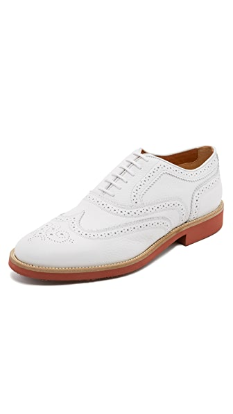 Doucal's Oscar Wing Tip Oxfords