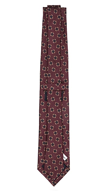 Drake's Floral Woven Tie