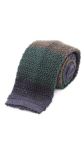 Drake's Colorblock Knit Tie