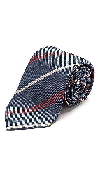 Drake's Multi Stripe Tie