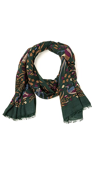 Drake's Bird of Paradise Scarf