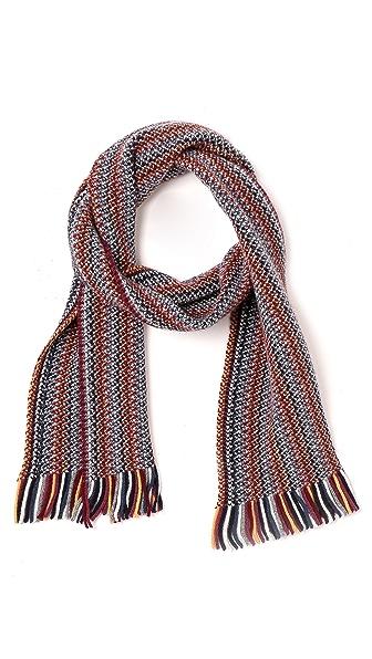 Drake's Zigzag Knit Scarf