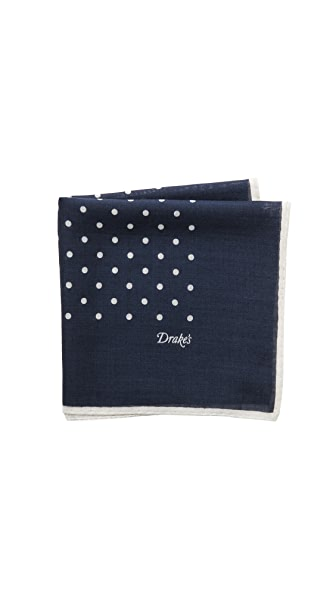 Drake's Spot Pocket Square