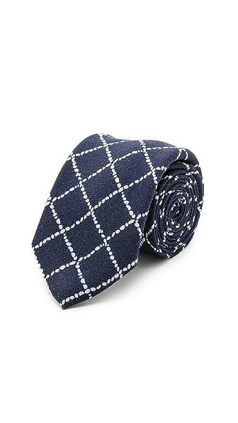 Drake's Printed Wool Tie