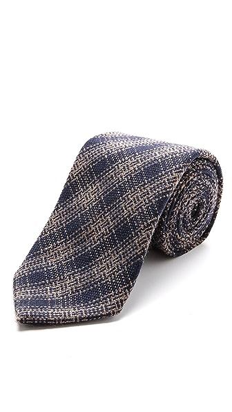 Drake's Cashmere Woven Necktie