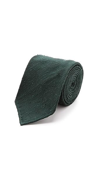 Drake's Silk Shantung Tie