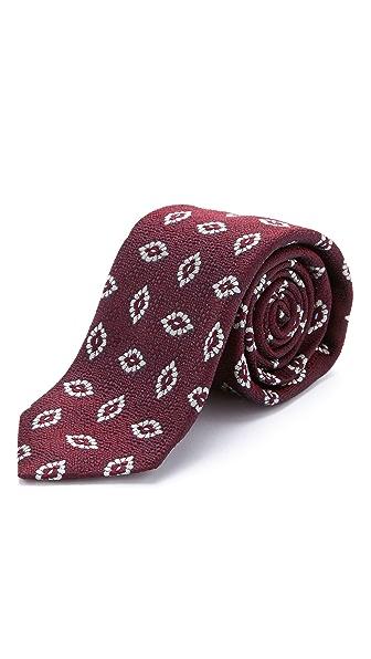 Drake's Silk Jacquard Tie