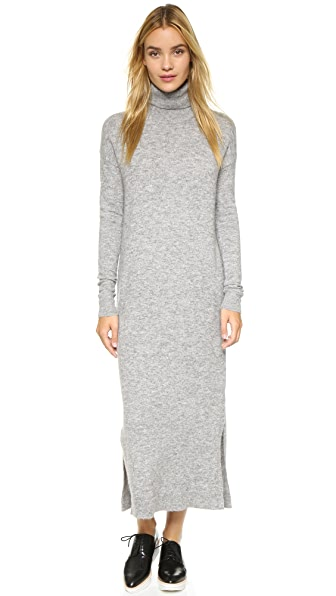 Designers Remix Alta Knit Dress - Light Grey Melange