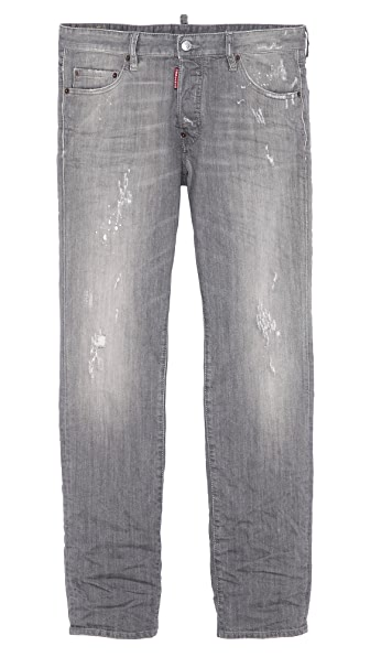DSQUARED2 Grey Wash Dean Jeans