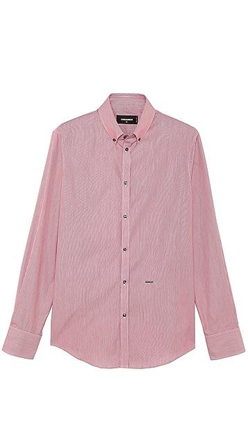 DSQUARED2 Stripe Dress Shirt
