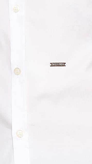 DSQUARED2 Stretch Dress Shirt