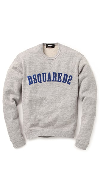 DSQUARED2 Heathered Logo Sweatshirt
