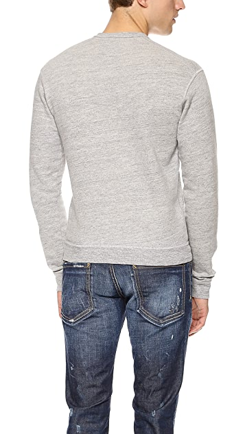 DSQUARED2 Heathered Logo Sweatshirt