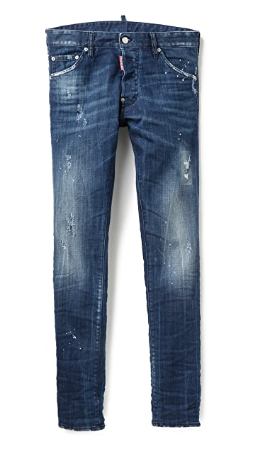DSQUARED2 White Spot Cool Guy Jeans