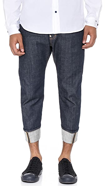 DSQUARED2 Dark Wash Workwear Jeans