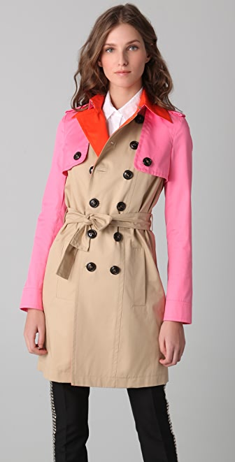 DSQUARED2 Menage A Trois Trench Coat