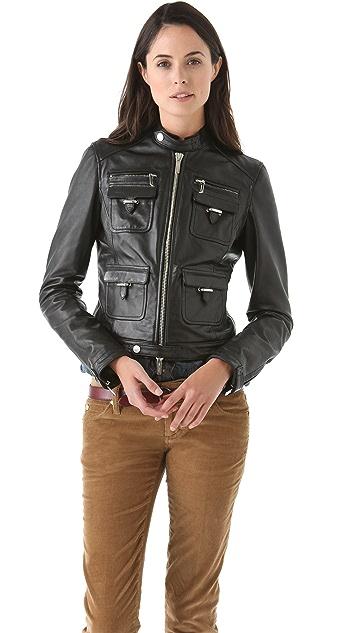 DSQUARED2 Coquette Biker Jacket