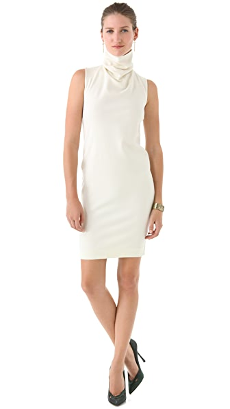 DSQUARED2 Turtleneck Shift Dress