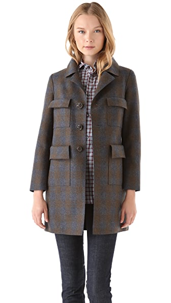 DSQUARED2 Melania Pencil Coat