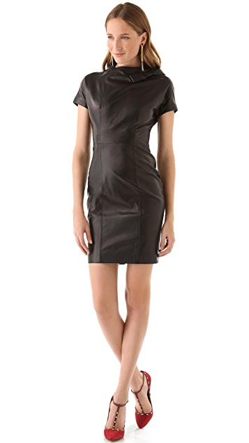 DSQUARED2 Marisa Mel Leather Dress