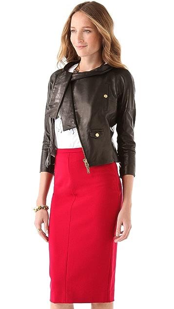 DSQUARED2 Miss Harper Leather Jacket