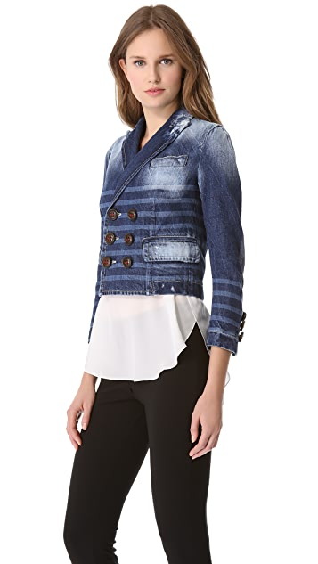 DSQUARED2 Sailorette Denim Blazer