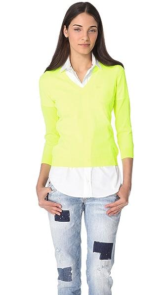 DSQUARED2 Fluorescent V Sweater