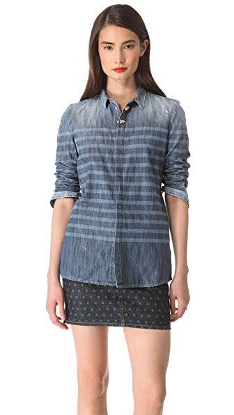 DSQUARED2 Sailorette Denim Shirt