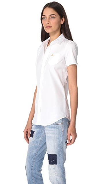 DSQUARED2 Donna Martin Boxy Shirt