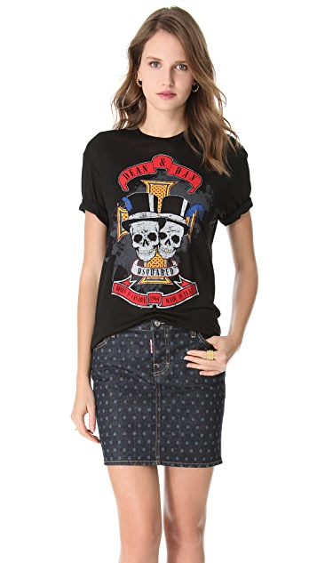 DSQUARED2 Printed Tee