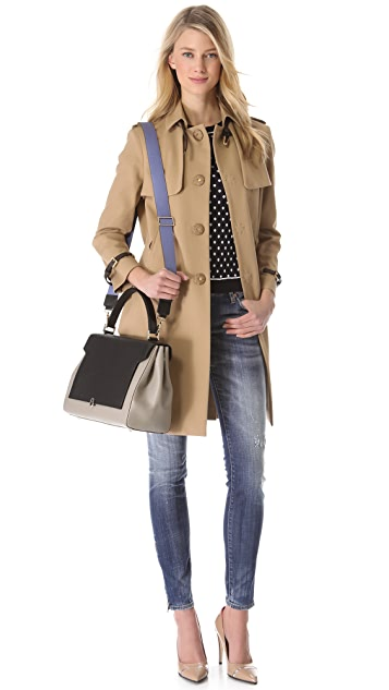 DSQUARED2 Ilsa Lund Trench Coat